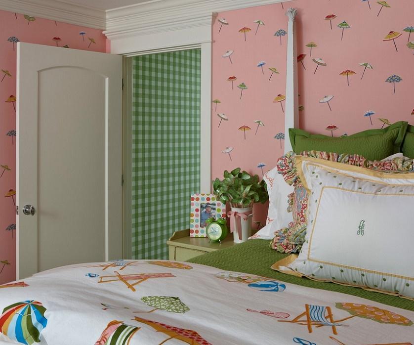 Dormitor decor estival