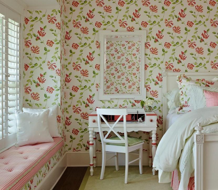 Dormitor shabby chic