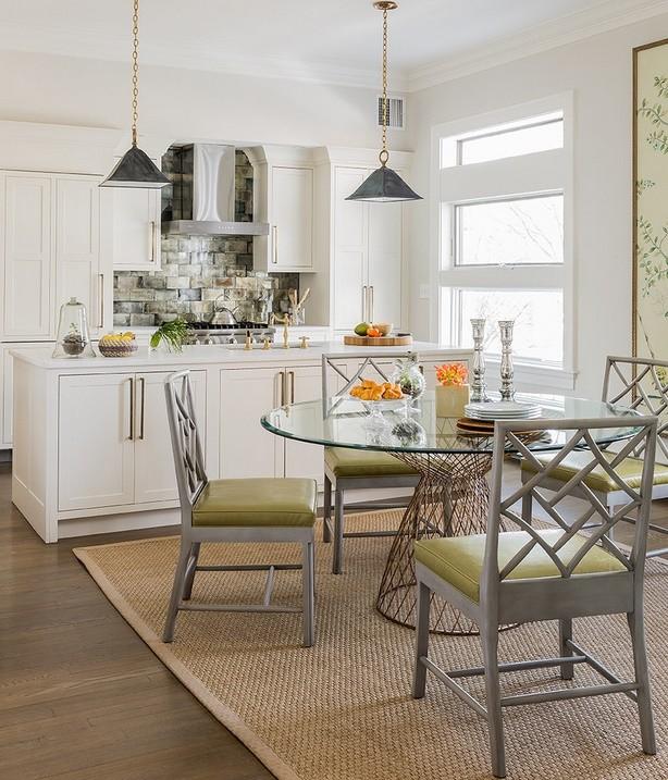 Atmosfera familiala pentru bucatarie si locul de luat masa