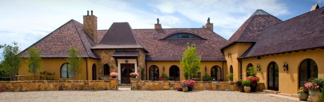 Casa in stil mediteranean francez