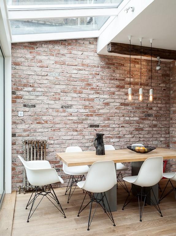 Sufragerie minimalist industriala