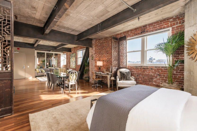 Dormitor apartament modern