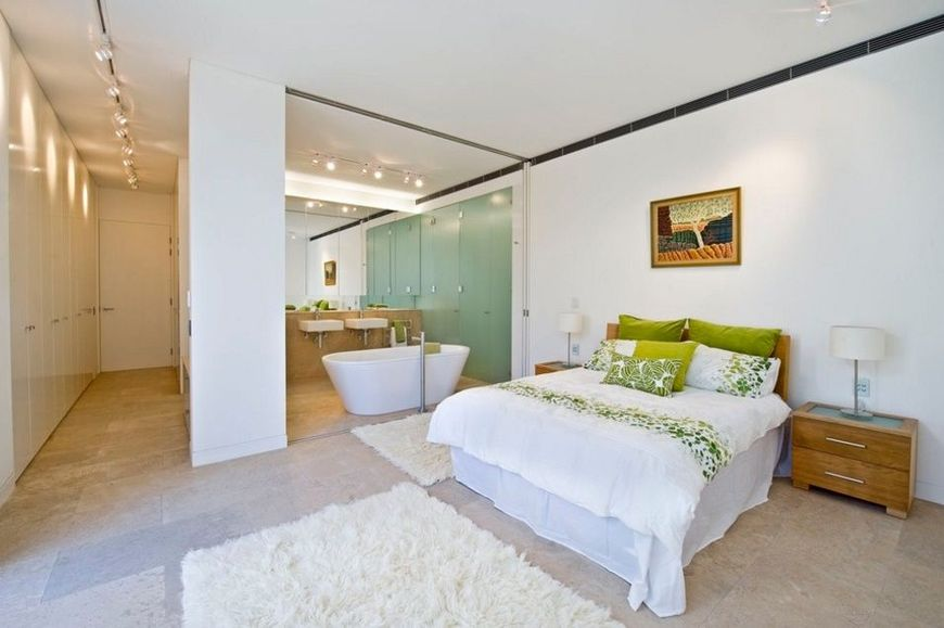 Dormitor matrimonial cu baie atasata