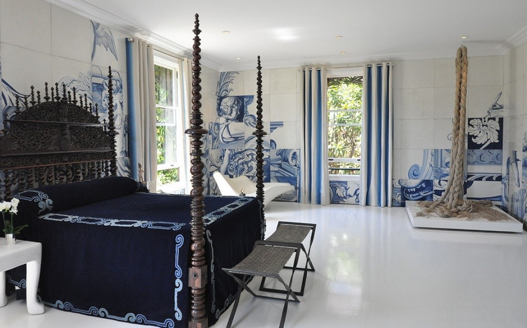 Dormitor decorat cu motive nautice