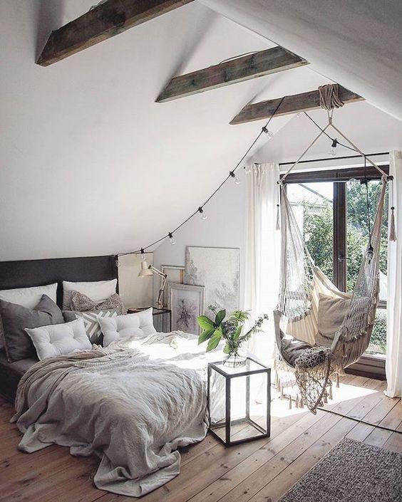 Stilul scandinav in decorarea dormitorului