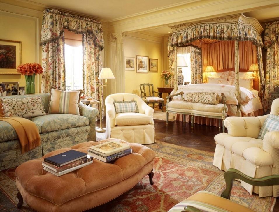 Stilul victorian in dormitor