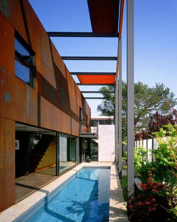 Imagine amenajare piscina, Palms Residence, Ehrlich Architects
