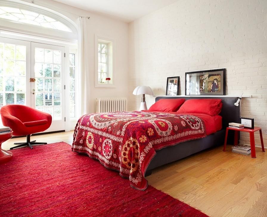 Dormitorul contemporan
