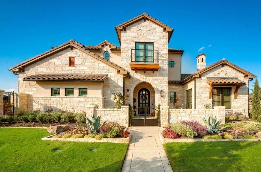 Casa in stil mediteranan