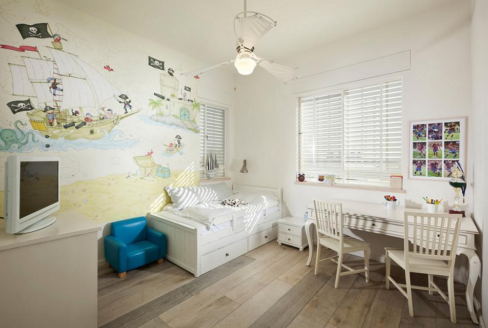 Camere Shabby Chic Foto : Shabby chic in camera copiilor