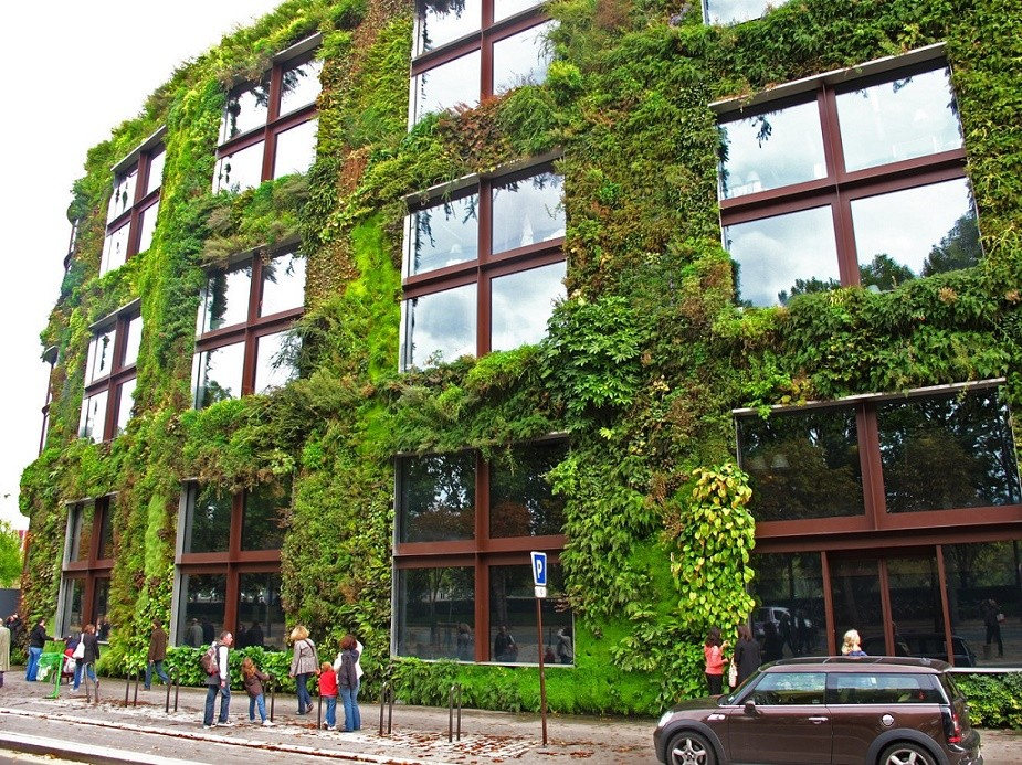 Gradina verticala Muzeul Quai Branly