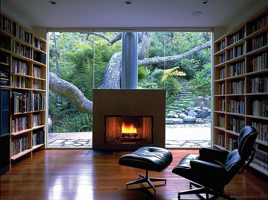 Sala de lectura perfecta