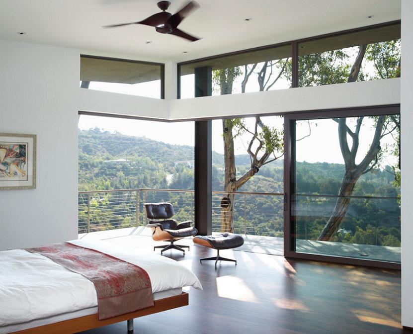 Simplitatea in dormitorul modern