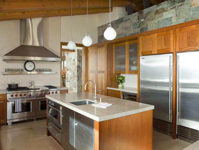 Imagine amenajare bucatarie Hillside Residence, Sutton Suzuki Architects