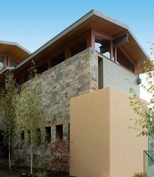 Imagine fatada Hillside Residence, Sutton Suzuki Architects