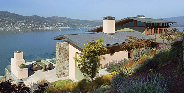 Imagine amenajare gradina Hillside Residence, Sutton Suzuki Architects