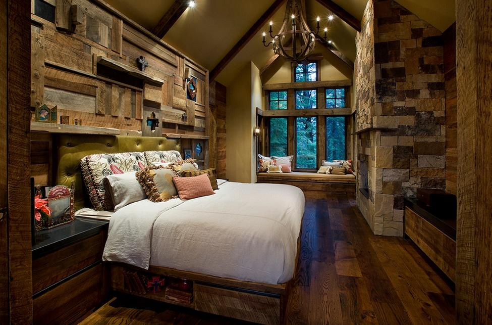 Dormitor casa de vacanta