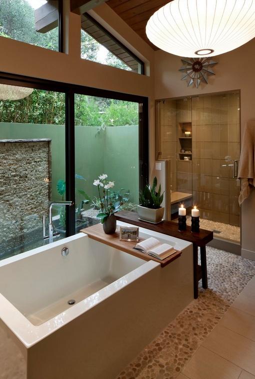 Atmosfera de spa in baia de acasa