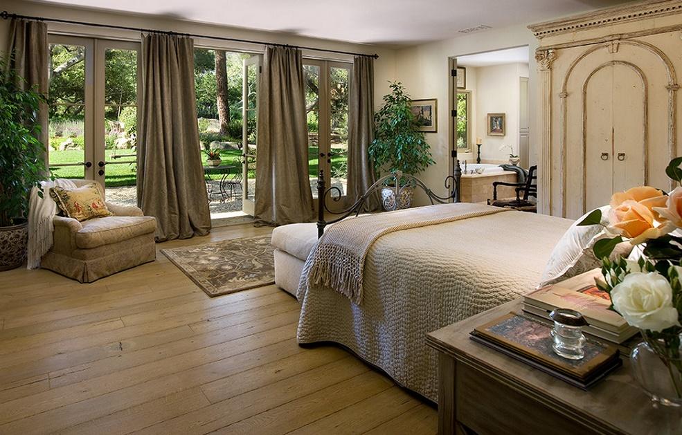 Dormitor matrimonial mediteranean
