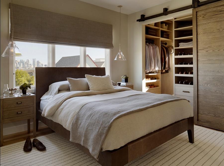 Dormitor modern si dressing
