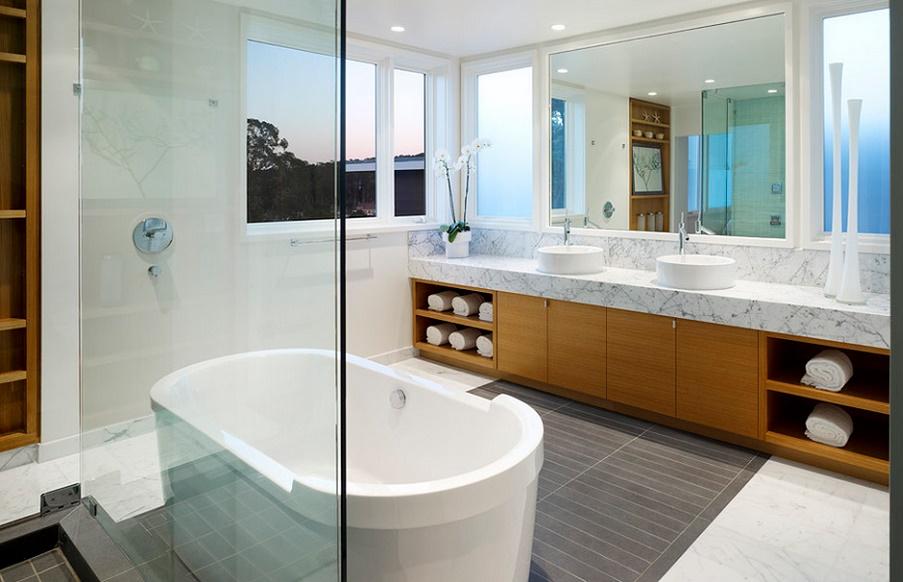 Amenajare baie moderna