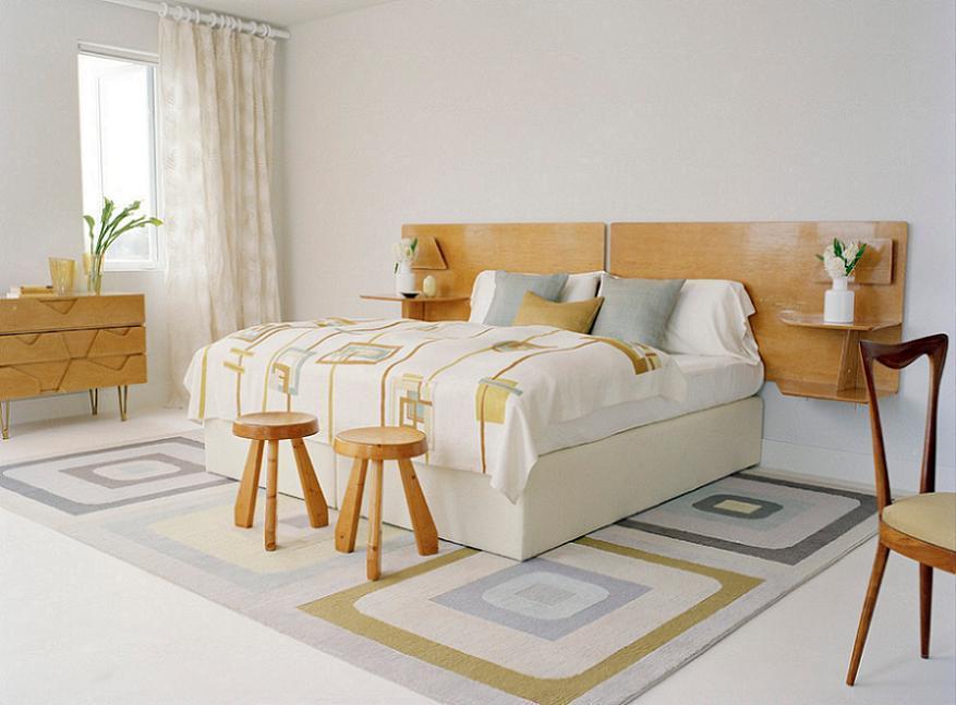 Amenajari simple la acest dormitor modern