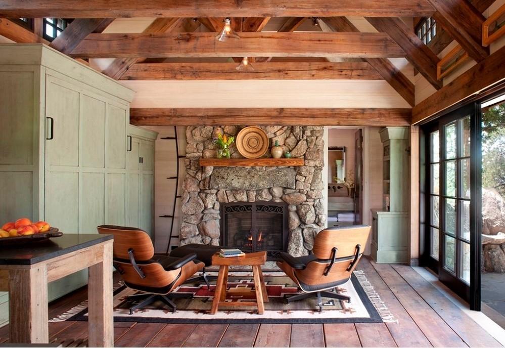 Living casa de vacanta rustica
