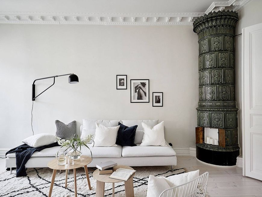 Interior in stil scandinav
