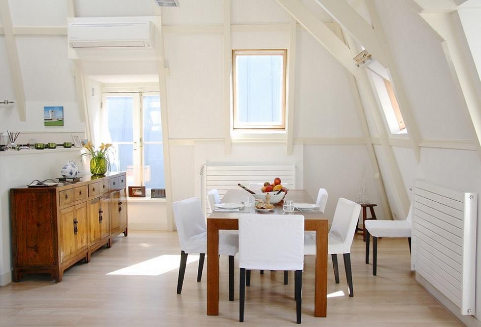 Sufrageria de la mansarda