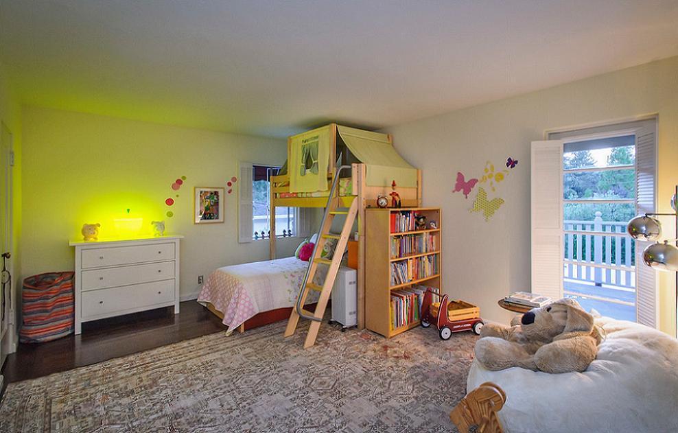 Camera copii cu pat etajat