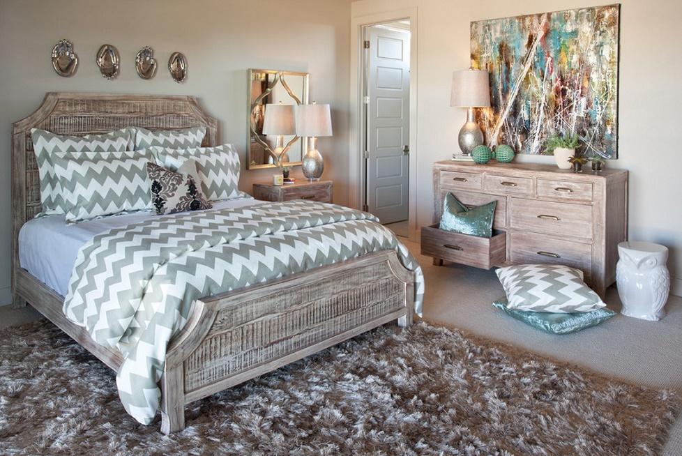 Simbioza de clasic si modern in dormitor