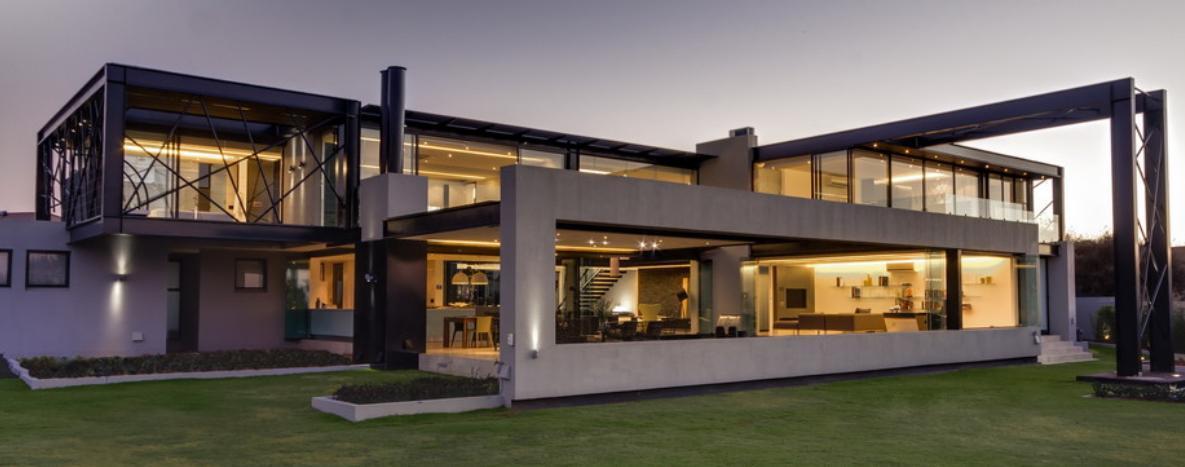 Locuinta cu o arhitectura ultramoderna