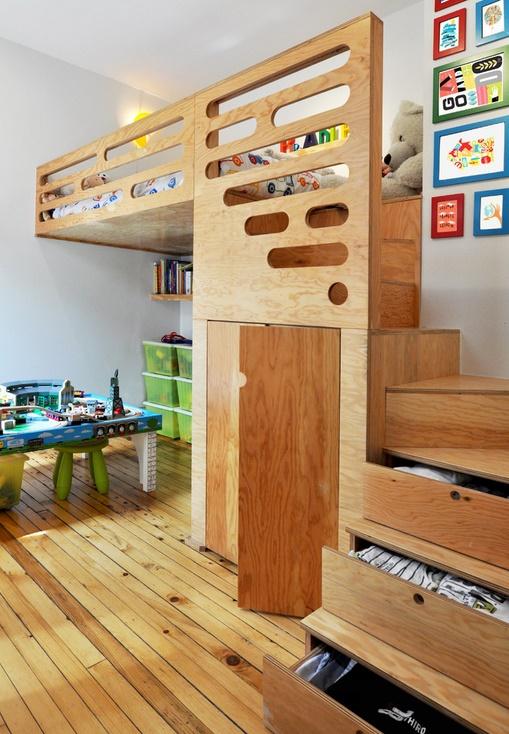 Optimizarea spatiului in camera copilului