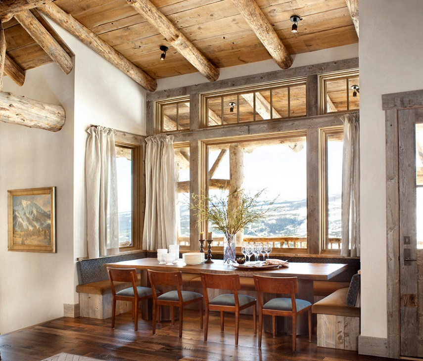 Sufragerie rustica