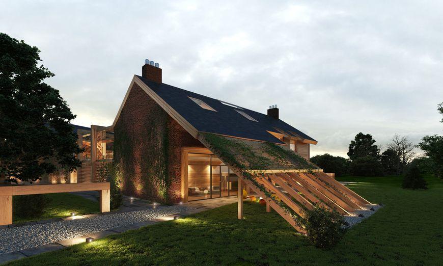 Casa cu o arhitectura deosebita