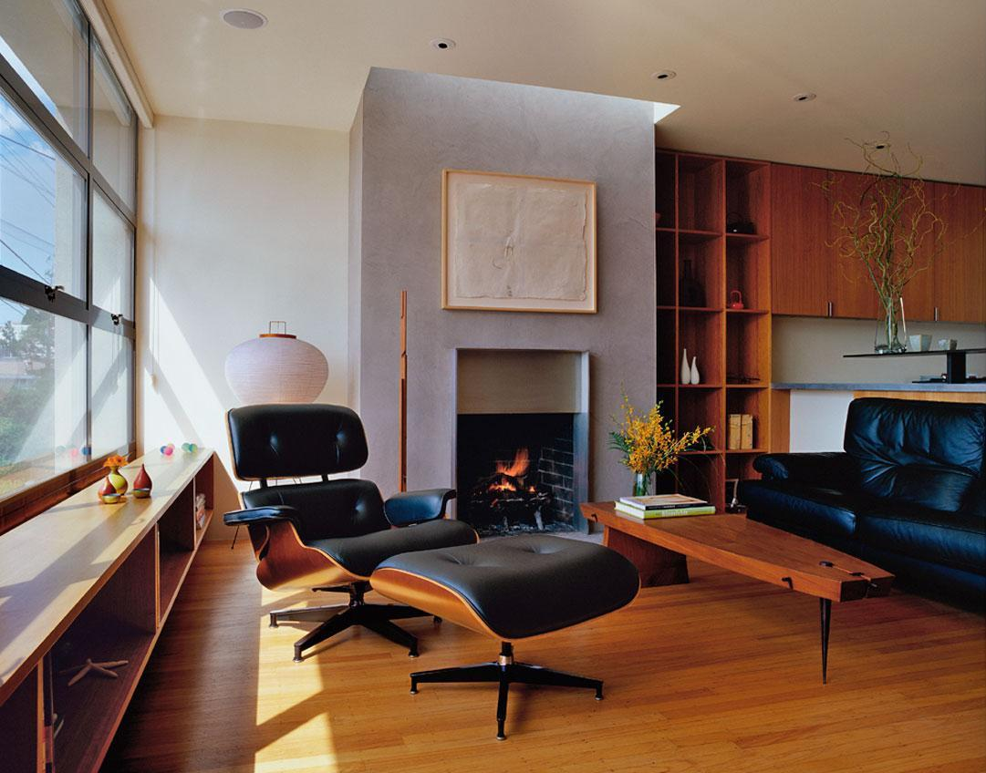 Imagine amenajare living Potrero Hill Residance, Aidlin Darling Design