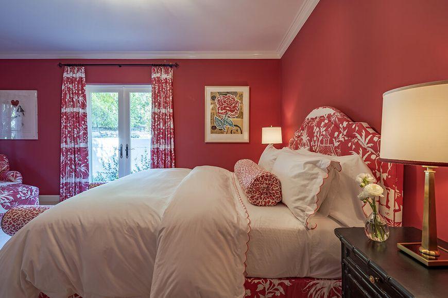 Dormitorul de oaspeti coral