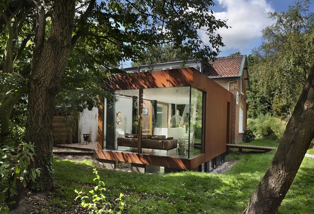 Imagine fatada Santpoort -  ZEC Architects