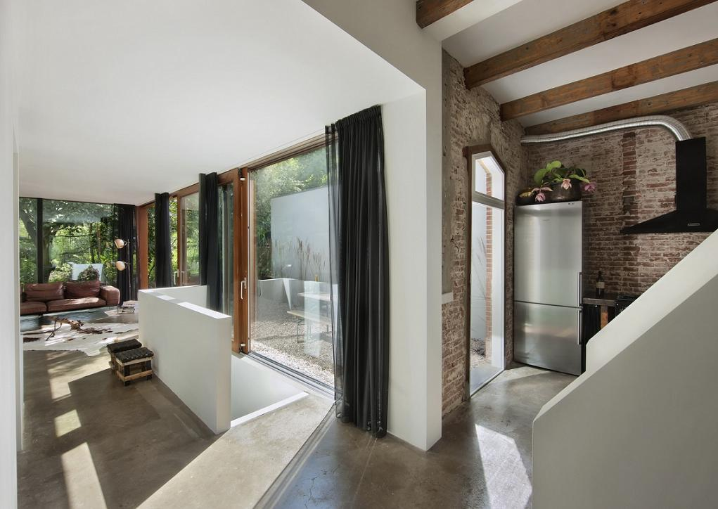 Amenajare living Santpoort -  ZEC Architects