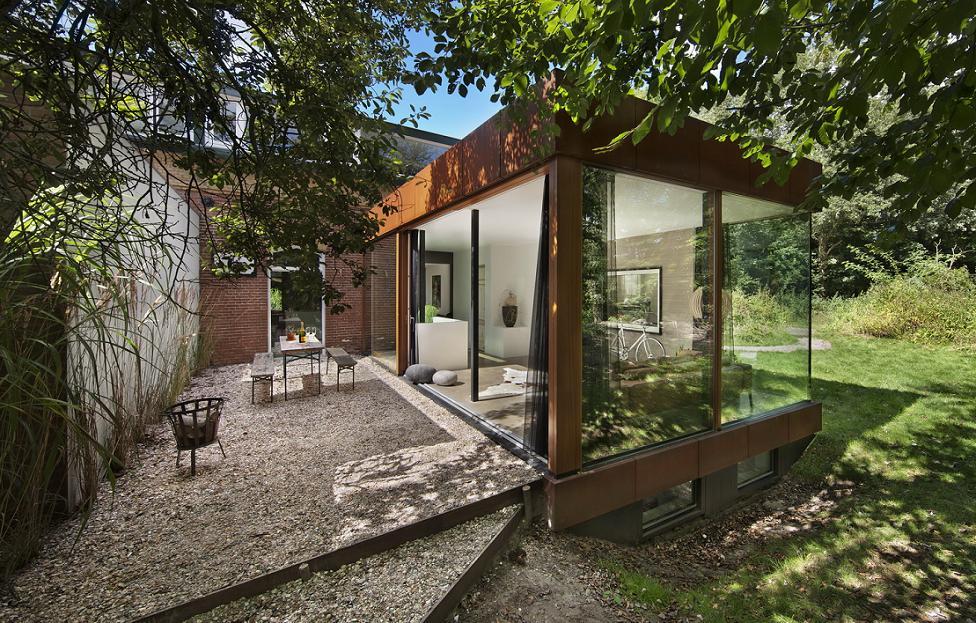 Imagine terasa Santpoort -  ZEC Architects