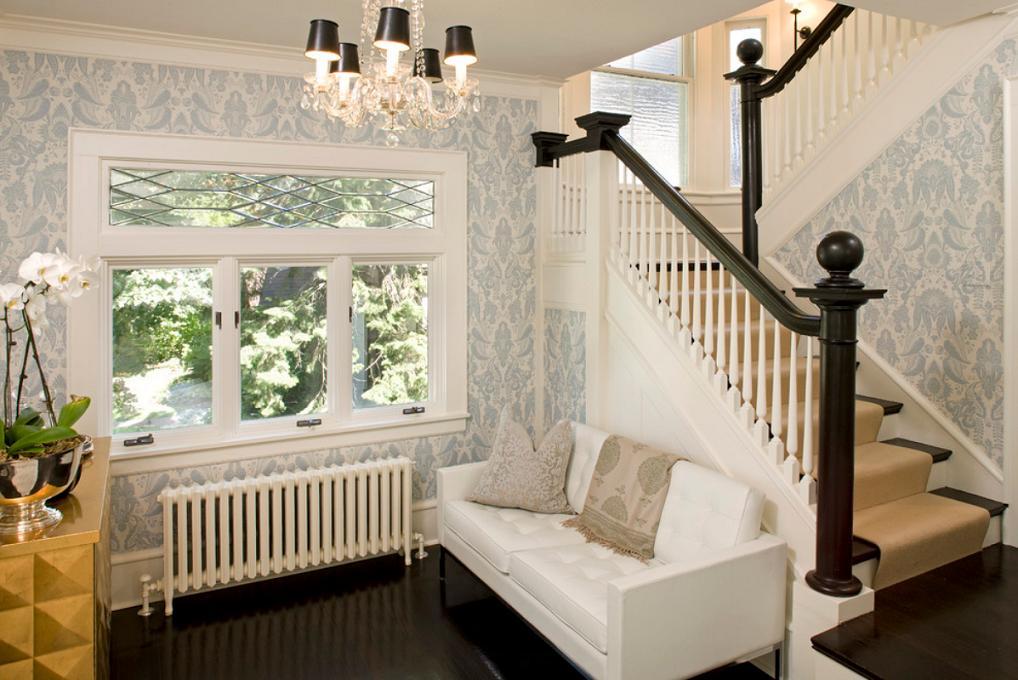 Scara interioara in contrast de culori - Lucy Interior Design
