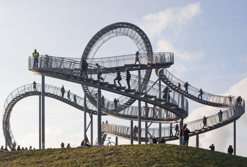 Scara roller coaster