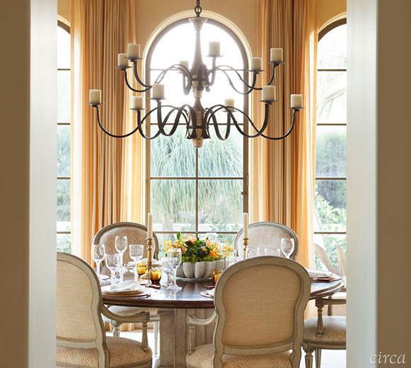 Sufragerie amenajata in stil clasic