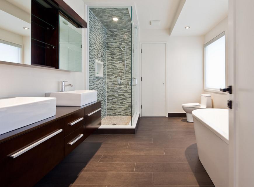 Amenajare moderna in baie