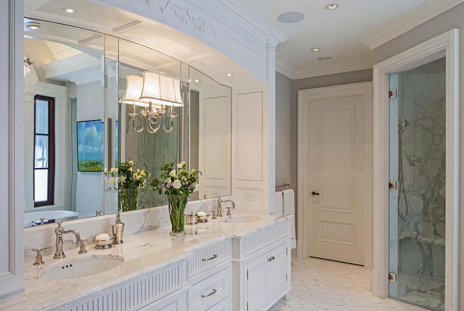 Amenajare baie cu finisaje de lux