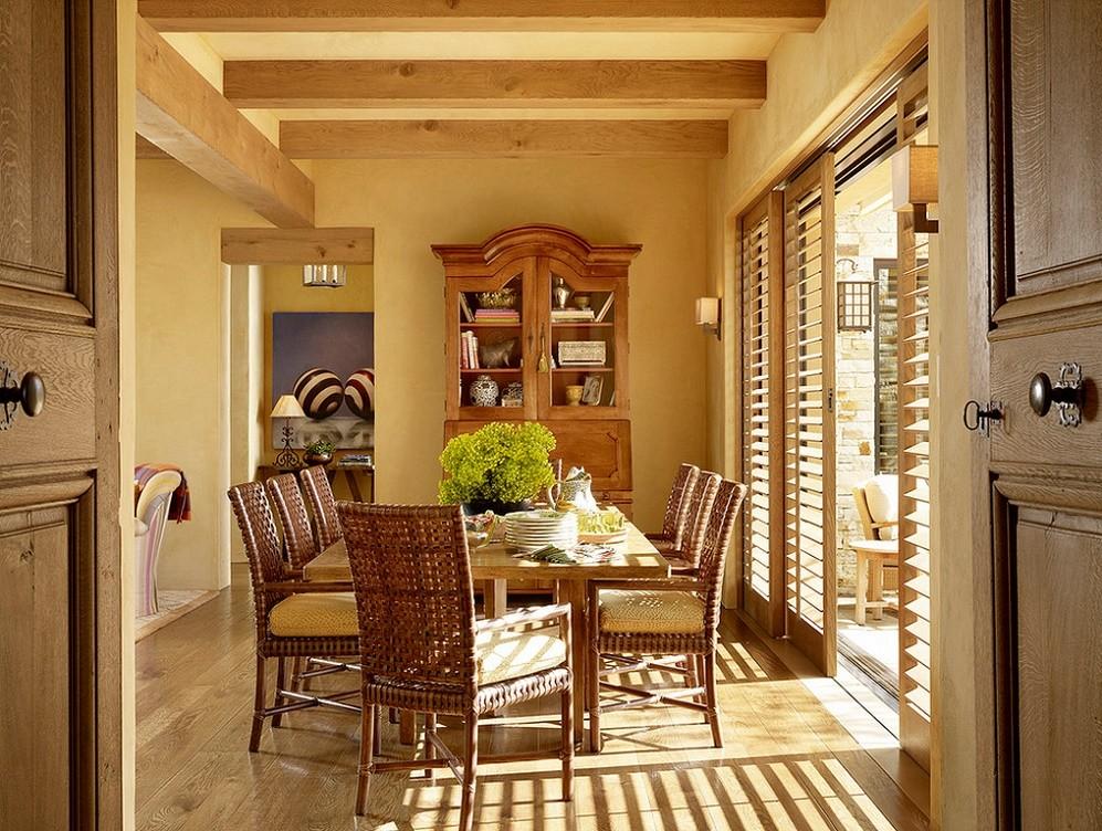 Sufragerie in stil mediteranean