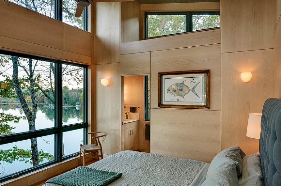 Dormitor casa de vacanta moderna