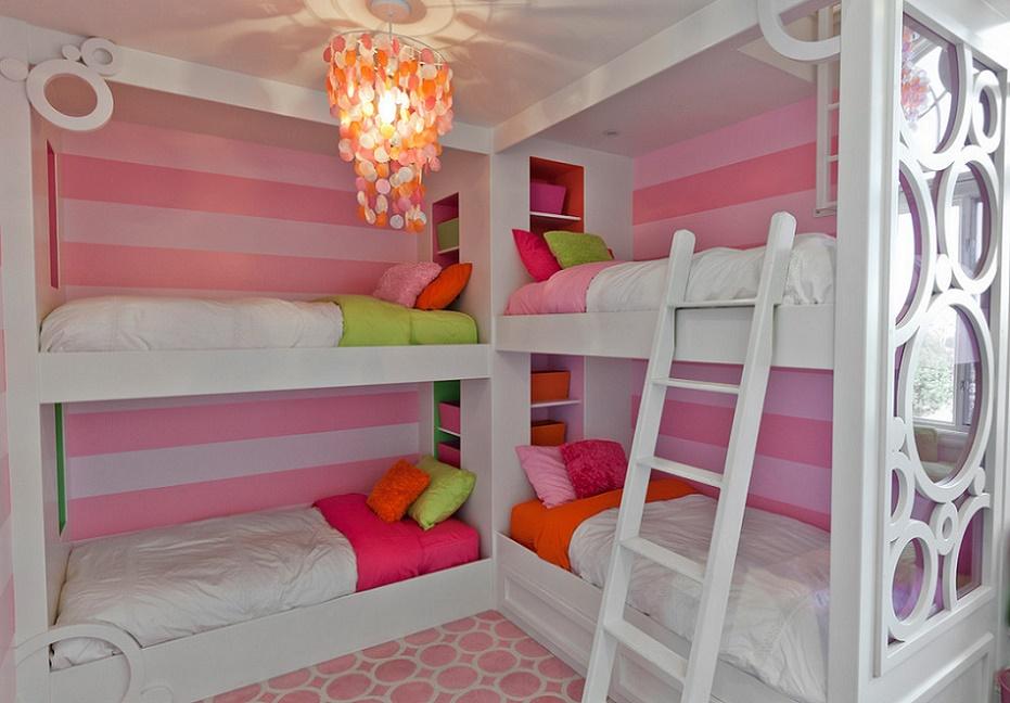 Paturi etajate pentru camera copiilor