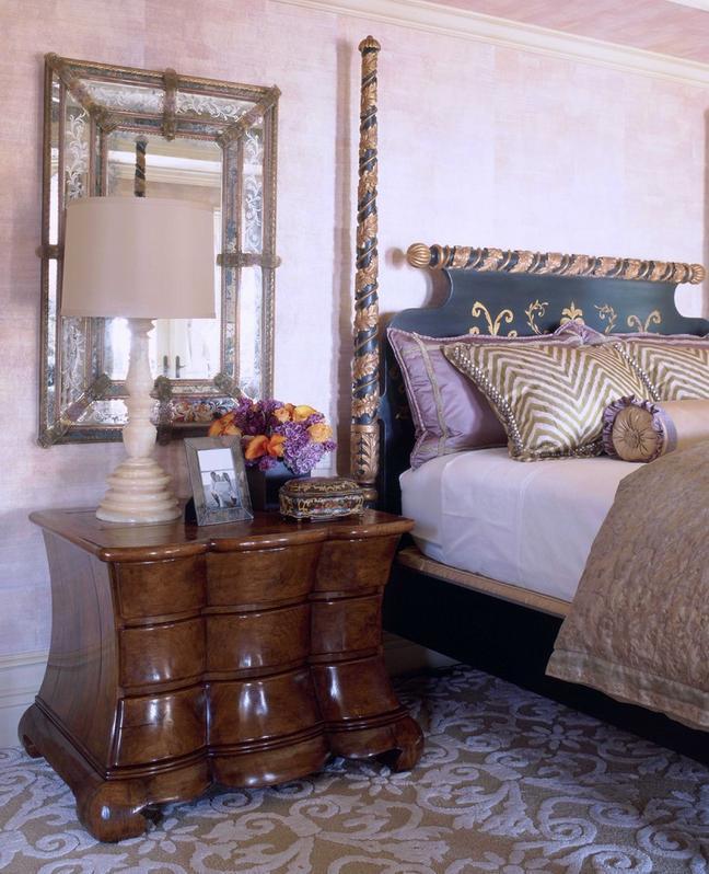 Amenajare dormitor in stil mediteranean