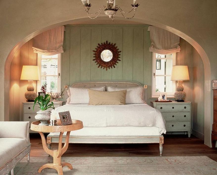 Dormitor stil provensal